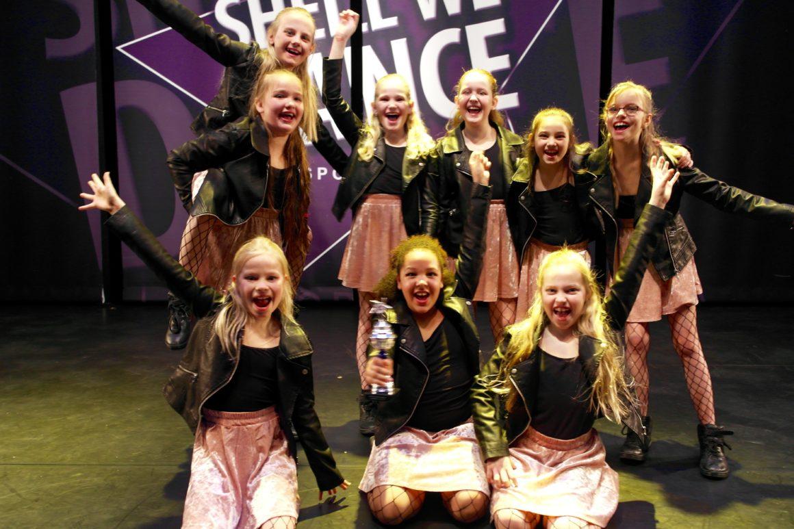 5x prijs voor de Moving Stars bij SWD Vlaardingen!!!