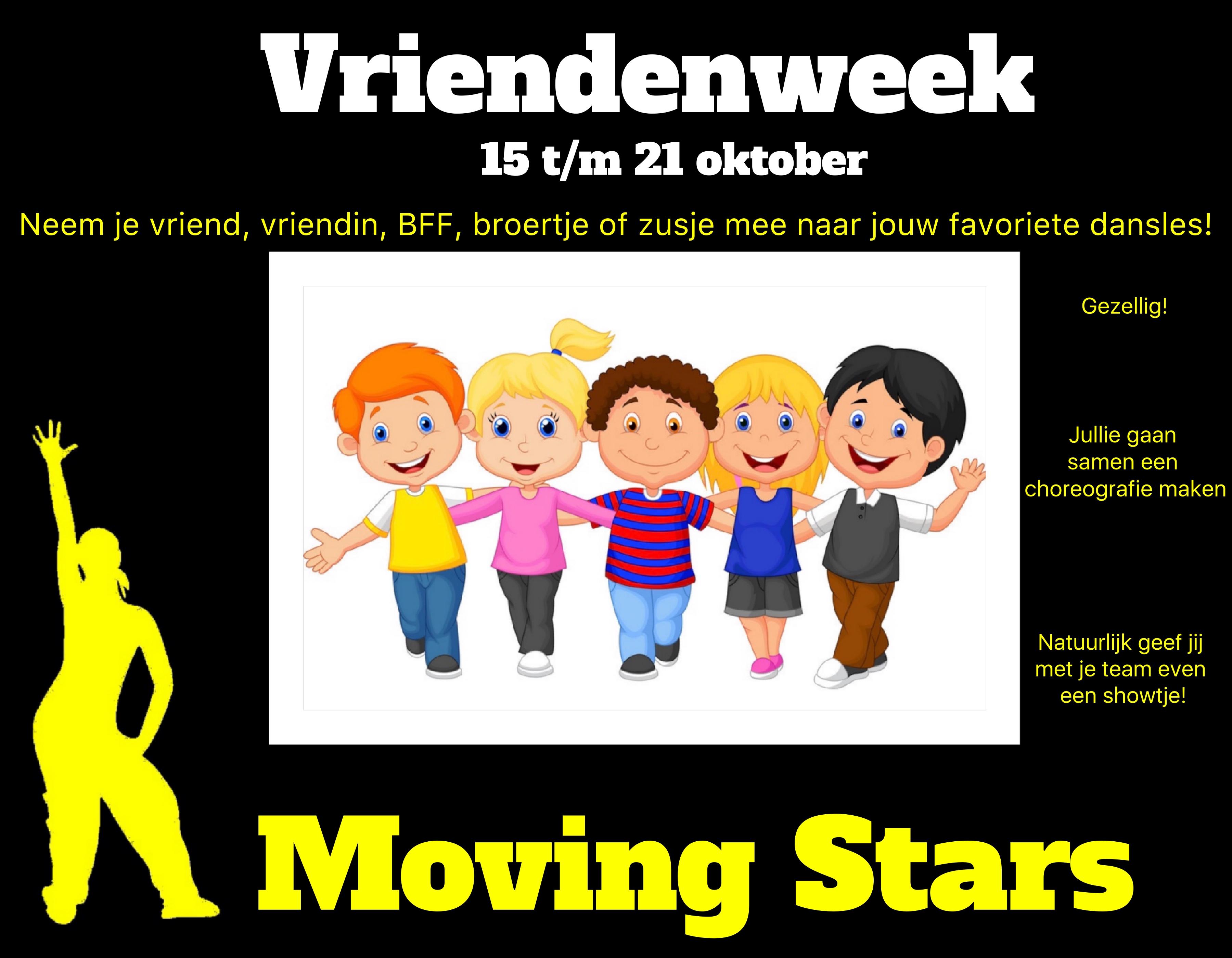 Moving Stars Vriendenweek